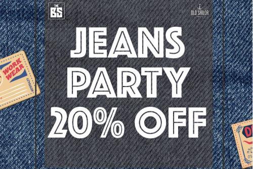 20% Off tất cả sản phẩm quần Jeans
