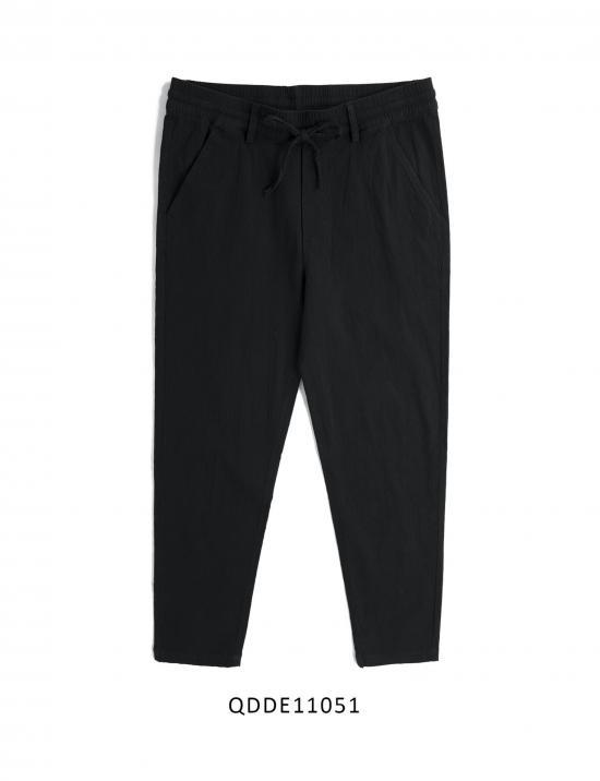 OSL LINEN PANTS - BLACK