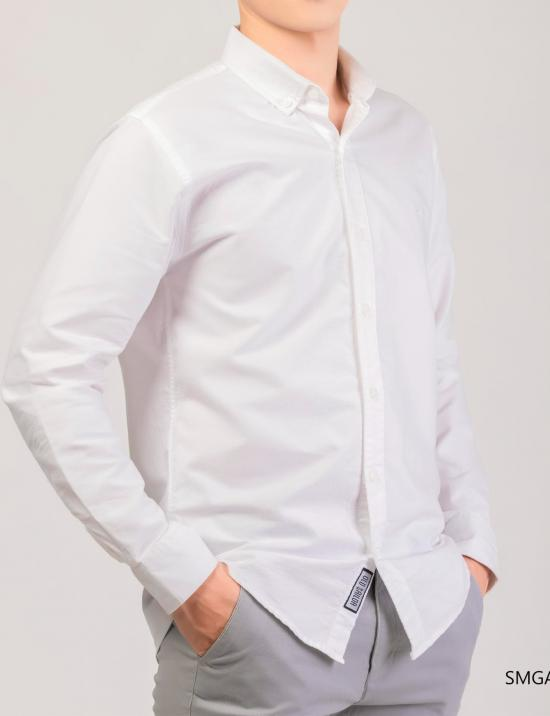O.S.L LONG SHIRT - WHITE