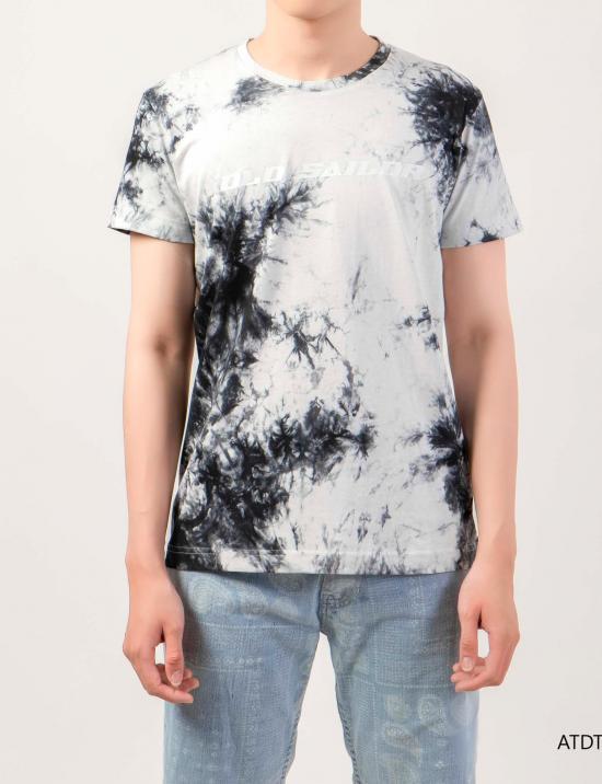 O.S.L Tie Dye T-Shirt -White _ Black  - Áo thun loang màu Old Sailor - Đen _ Trắng